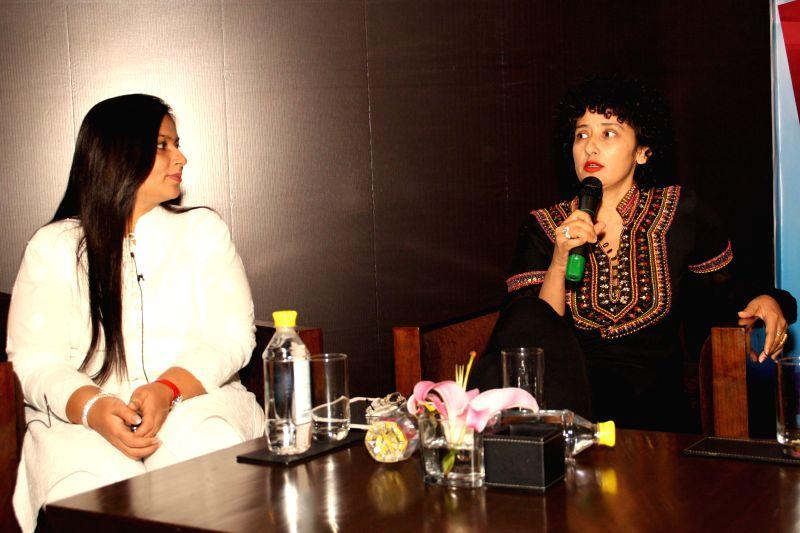 Actress Manisha Koirala at the launch of Sagoon.com in New Delhi on July 26, 2014.