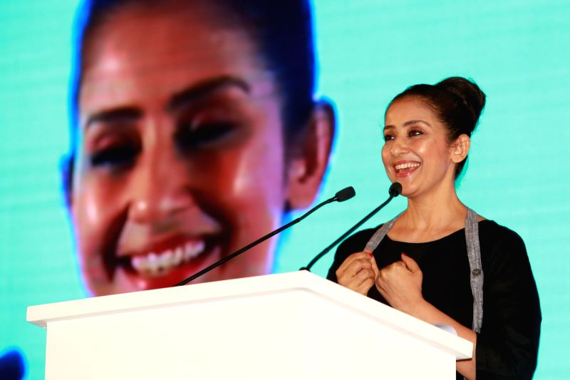 Actress Manisha Koirala during Sixth Healthcare Summit organised by Organisation of Pharmaceutical Producers of India (OPPI) in New Delhi, on June 9, 2017. - Manisha Koirala