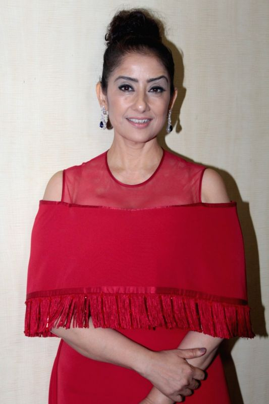 Actress Manisha Koirala during the Dada Saheb Phalke Academy Awards 2017 in Mumbai on June 1, 2017. - Manisha Koirala