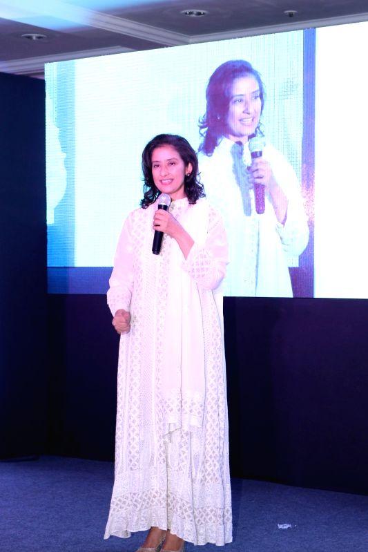Manisha Koirala attend social cause campaign - Manisha Koirala and Nargis Dutt Foundation