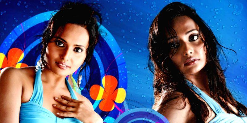 Actress Manthagini Nair during a photo-shoot. (Photo : IANS)