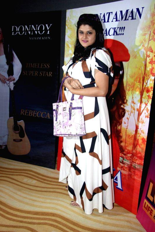 "Actress Megha Mukherjee during premier of actress Zeenat Aman's debut web series ""Love Life and Screw Ups"" in Mumbai, on May 4, 2017. - Megha Mukherjee"