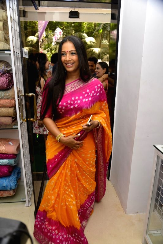 Actress Meghna Naidu during the inauguration of a store in Mumbai, on May 18, 2016. - Meghna Naidu