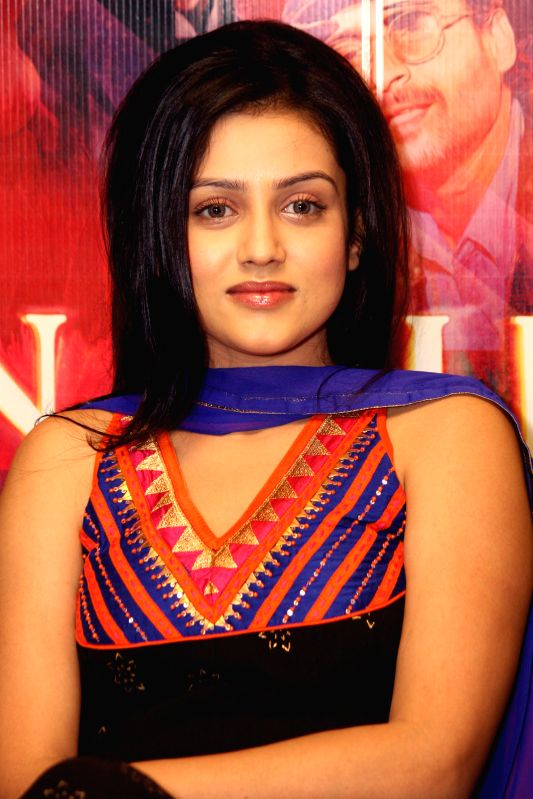 Actress Mishti Mukherjee during a press conference to promote her upcoming film 'Kaanchi' in Noida on April 18, 2014. - Mishti Mukherjee