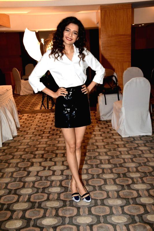 """Actress Mithila Palkar during a media interaction of her upcoming film """"Karwaan"""" in Mumbai on July 23, 2018. - Mithila Palkar"""