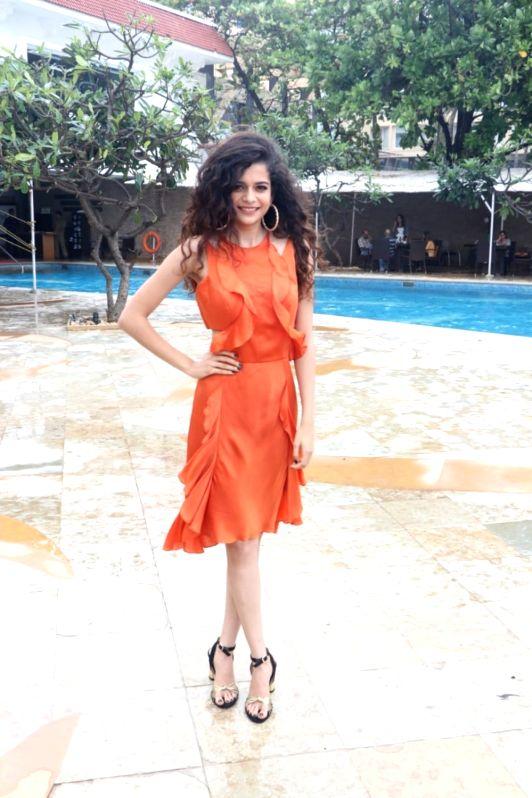 """Actress Mithila Palkar during the promotion of her upcoming film """"Karwaan"""" in Mumbai on July 14, 2018. - Mithila Palkar"""