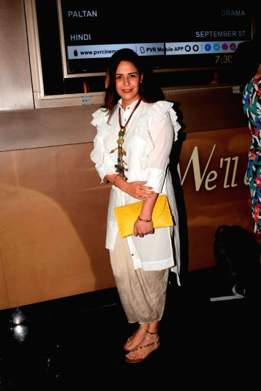 "Actress Mona Singh at the screening of web series ""Yeh Meri Family"" in Mumbai on July 12, 2018. - Mona Singh"