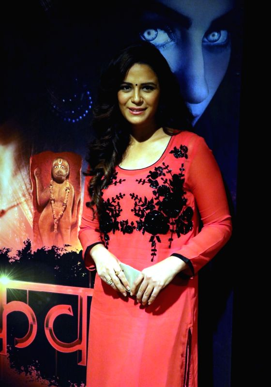 "Actress Mona Singh during promotion of her upcoming television show  ""Kavach...Kaali Shaktiyon Se"" in New Delhi, on June 2, 2016. - Mona Singh"