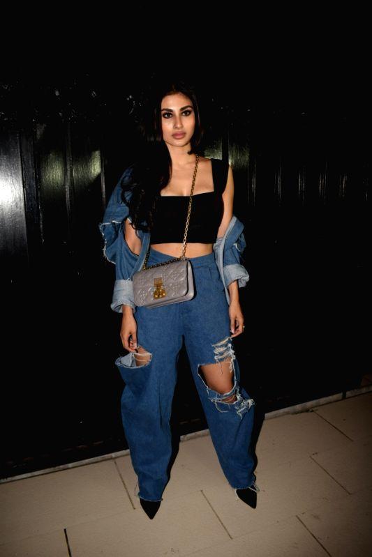"Actress Mouni Roy at the producer Ekta Kapoor's party post web series ""The Test case"" screening in Mumbai on Jan 29, 2018. - Mouni Roy and Ekta Kapoor"