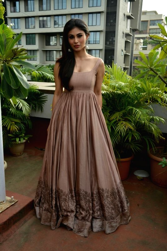 "Actress Mouni Roy at the promotion of her upcoming film ""Gold"" in Mumbai on July 31, 2018. - Mouni Roy"