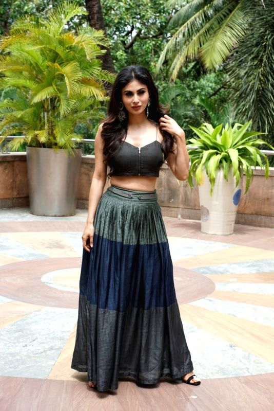 "Actress Mouni Roy during the promotion of her upcoming film ""Gold"" in Mumbai on July 30, 2018. - Mouni Roy"
