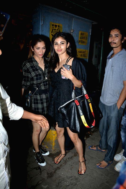 Actress Mouni Roy seen at Mumbai's Bandra on July 29, 2018. - Mouni Roy