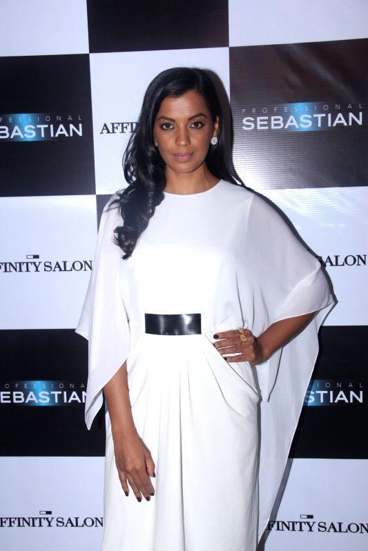 Actress Mugdha Godse during the launch of Affinity Salon, in Mumbai on May 24, 2016. - Mugdha Godse