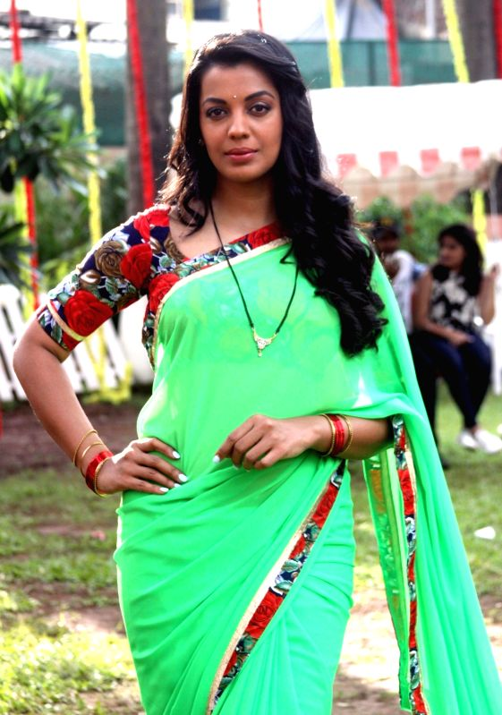 "Actress Mugdha Godse during the on location shoot of their upcoming film ""Jhunjhuna"" in Mumbai on June 9, 2017. - Mugdha Godse"