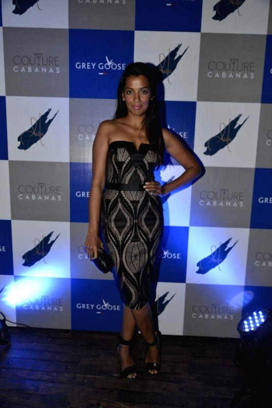 Actress Mugdha Godse during the party of Couture Cabanas in association with Grey Goose, in Mumbai, on Nov 27, 2015. - Mugdha Godse