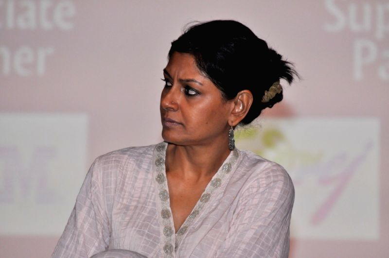 Actress Nandita Das during Kashish 2016 panel discussion on Freedom of Expression and Censorship in Indian Cinema, in Mumbai on May 27, 2016. - Nandita Das