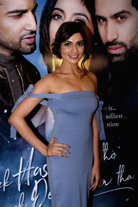 "Actress Natasha Fernandez during the music launch of film ""Ek Haseena Thi Ek Deewana Tha"" in Mumbai, on June 12, 2017. - Natasha Fernandez"