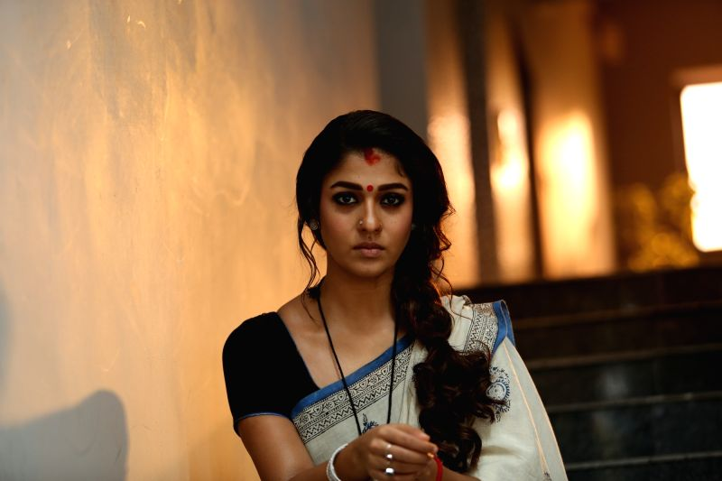 "Actress Nayanthara at Telugu movie ""Vasuki - Nayanthara"
