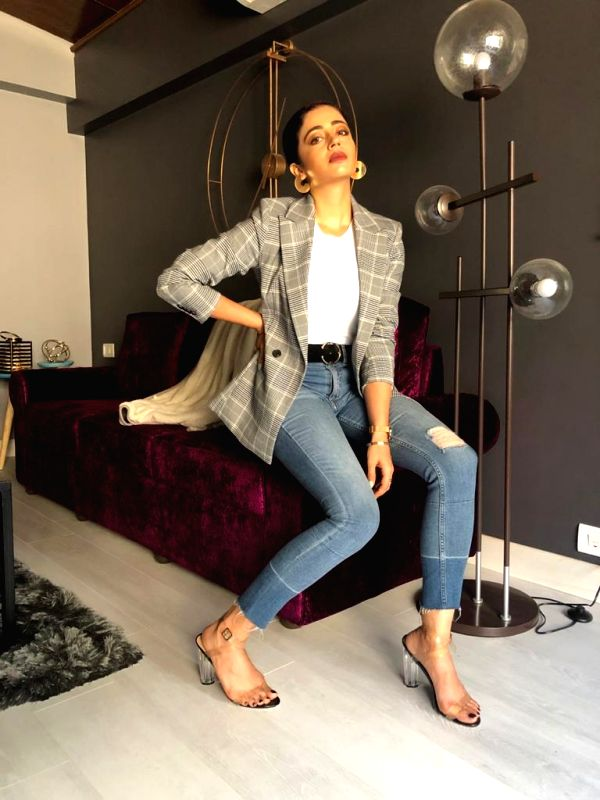 Actress Nehha Pendse.