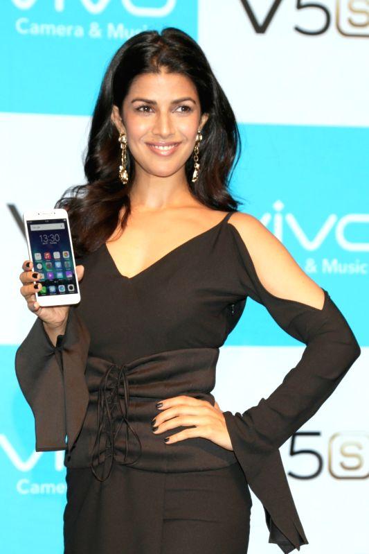 Actress Nimrat Kaur during launch of Viv0's V5s in New Delhi, on April 27, 2017. - Nimrat Kaur