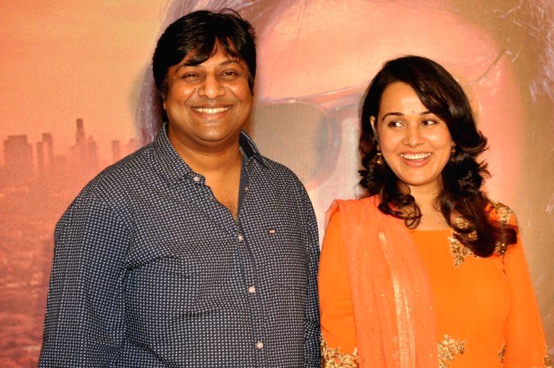 Actress Nisha Kothari during the Press meet of Telugu film `Bullet Rani`. - Nisha Kothari