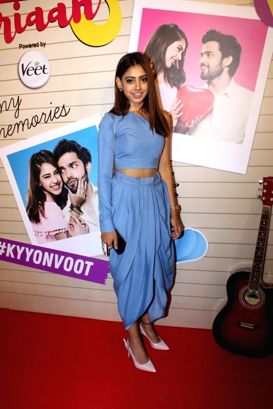 "Actress Niti Taylor at the launch of her web series ""Kaisi Yeh Yaariaan 3"" in Mumbai on May 15, 2018. - Niti Taylor"