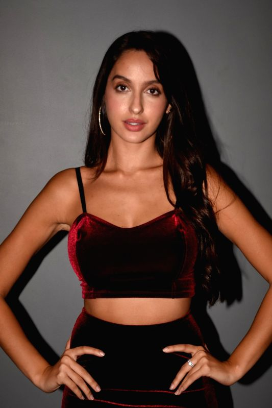 Actress Nora Fatehi during a programme in Mumbai on July 18, 2018. - Nora Fatehi
