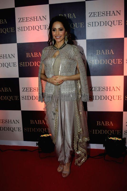 Actress Nushrat Bharucha at politician Baba Siddique's iftar party in Mumbai on June 10, 2018. - Nushrat Bharucha