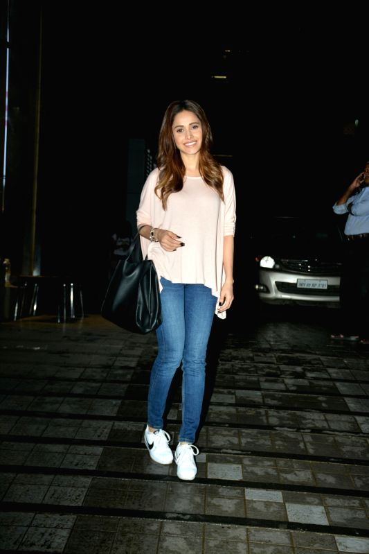 Actress Nushrat Bharucha seen at Mumbai's Khar on July 23, 2018. - Nushrat Bharucha