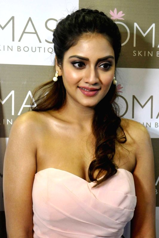 Actress Nusrat Jahan during a programme  in Kolkata on Aug 3, 2016. - Nusrat Jahan