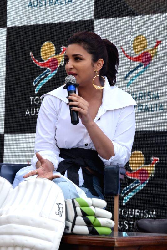 Actress Parineeti Chopra during a programme in Mumbai on Jan 23, 2018. - Parineeti Chopra