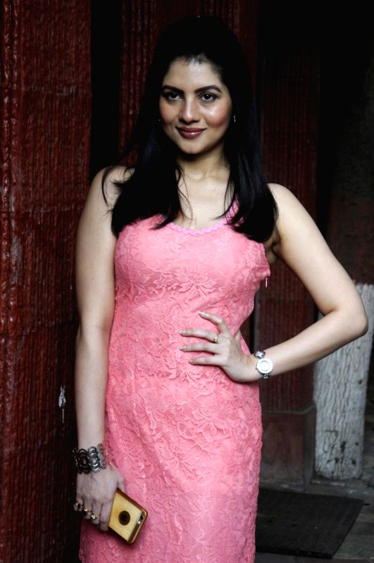 Actress Payel Sarkar at the launch of `Mehir Aali` in Kolkata, on Nov 23, 2015. - Payel Sarkar