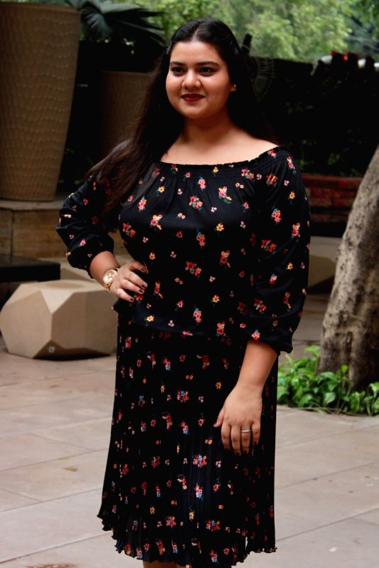 "Actress Pihu Sand during the promotion of her upcoming film ""Fanney Khan"" in New Delhi on July 27, 2018. - Pihu Sand and Fanney Khan"
