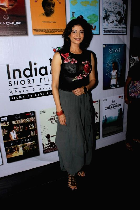 Actress Pooja Batra during the opening ceremony of India alive Short Film Festival 2017 in Mumbai, on May 30, 2017. - Pooja Batra