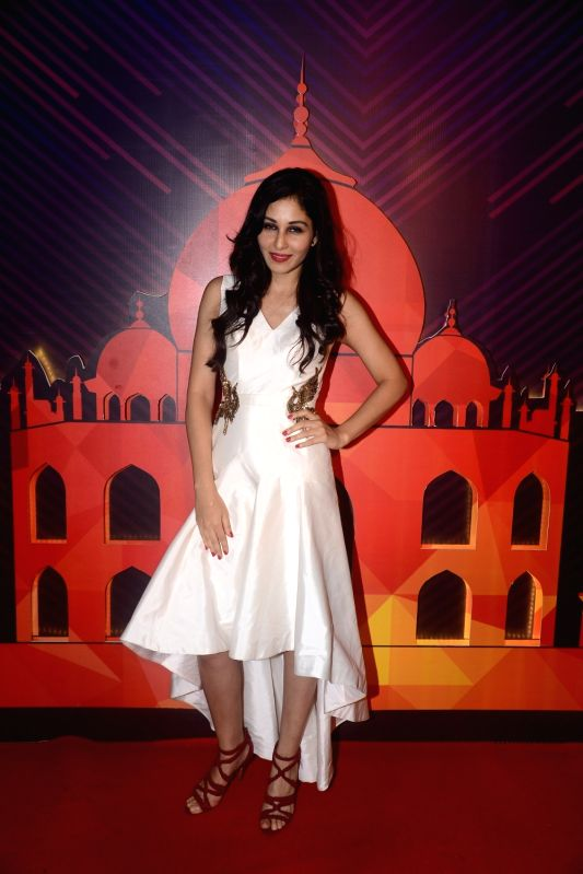 Actress Pooja Chopra during a programme organised to unveil the winners of fbb Colors Femina Miss India 2018 in Mumbai on June 10, 2018. - Pooja Chopra