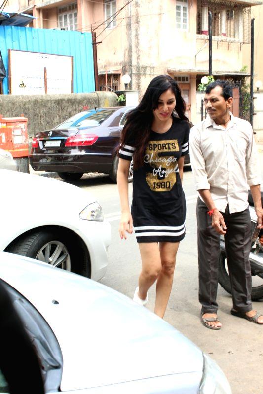 Actress Pooja Chopra seen at Mumbai's Bandra on June 12, 2018. - Pooja Chopra