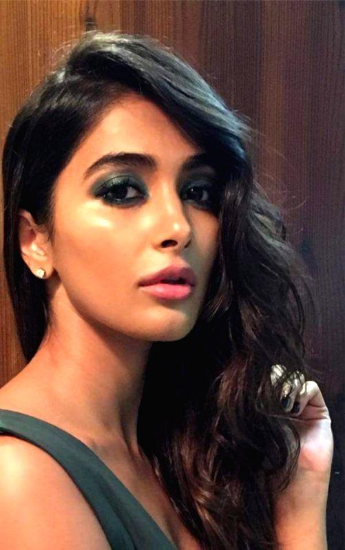 "Actress Pooja Hegde stills from Telugu film ""Rangasthalam"" in Hyderabad. - Pooja Hegde"
