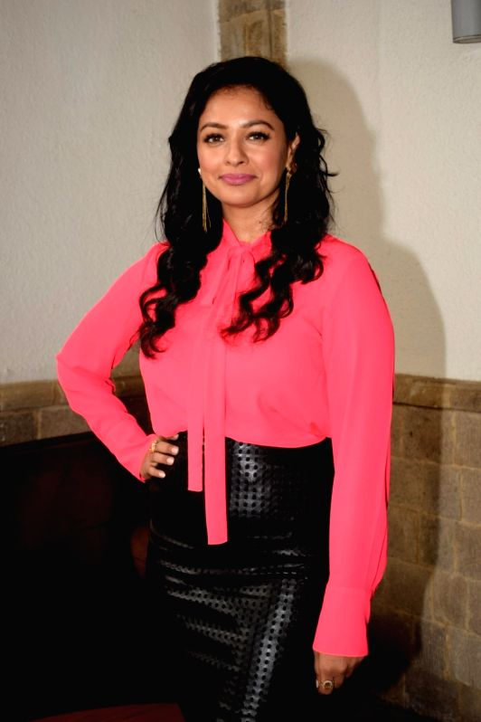 "Actress Pooja Kumar during the promotion of her upcoming film  ""Vishwaroopam 2"" in Mumbai on July 31, 2018. - Pooja Kumar"