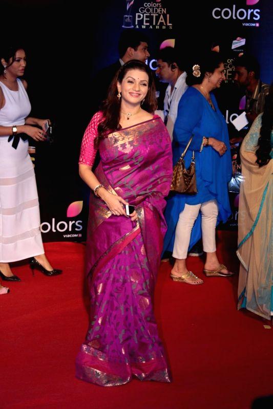 Actress Prachee Shah Pandya during the 5th Colors Golden Petal Awards in Mumbai on April 12, 2017. - Prachee Shah Pandya