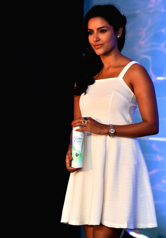Actress Priya Anand during a programme in Chennai on Aug 6, 2014.