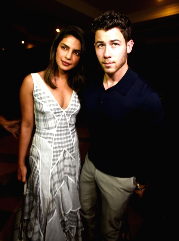 Priyanka Chopra and Nick Jonas(Image Source: IANS)