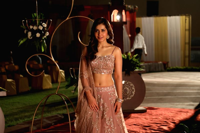 Actress Raashi Khanna in Srinivasa Kalyanam. - Raashi Khanna