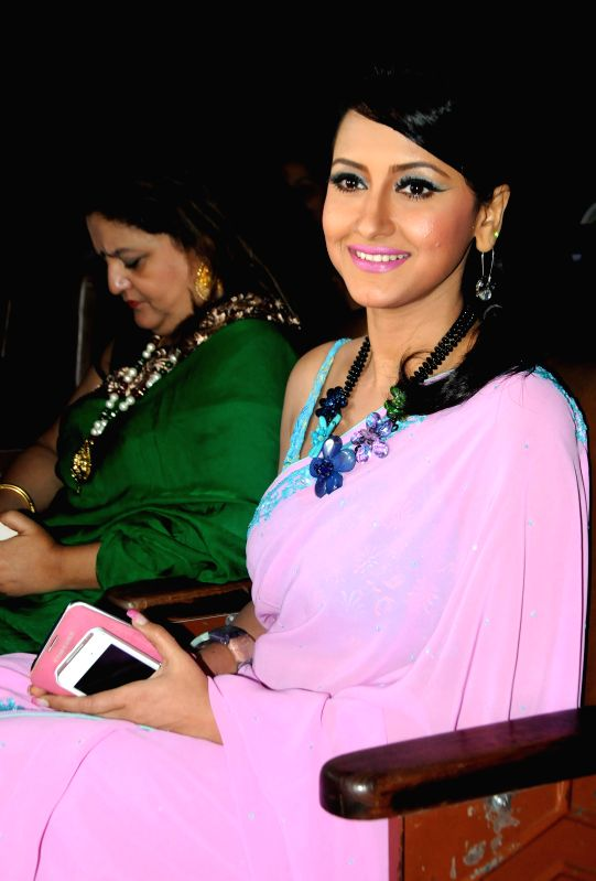Actress Rachana Banerjee during a programme in Kolkata on Aug 19, 2014.