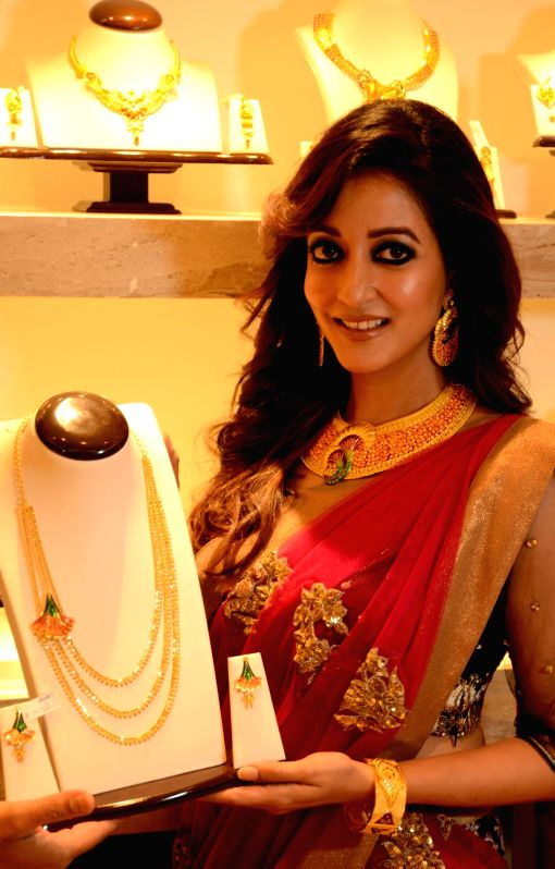 Actress Raima Sen during at a jewellery store in Kolkata on July 30, 2016. - Raima Sen