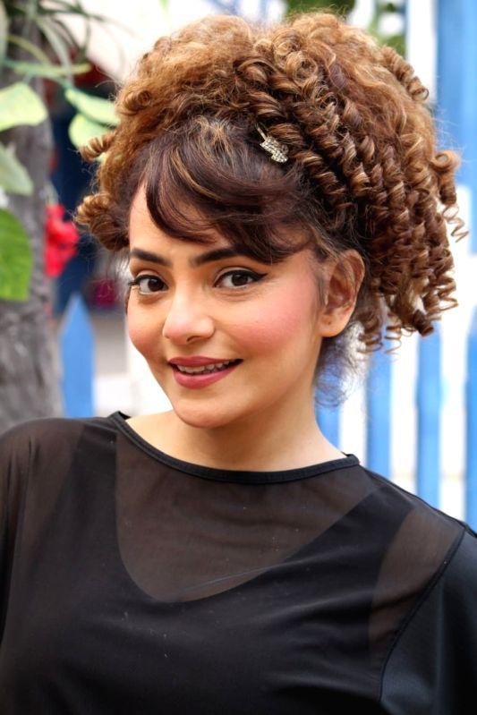 Actress Rakhi Vijan.