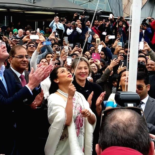 Actress Rani Mukerji in Melbourne - Rani Mukerji