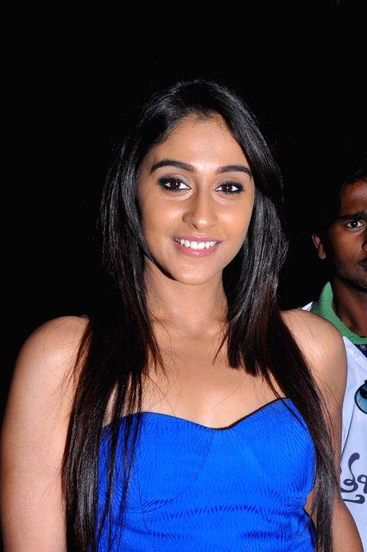 Actress Rezina during the audio launch of Maruthi's upcoming Telegu film 'Kotha Janta' in Hyderabad on April 12, 2014. - Rezina