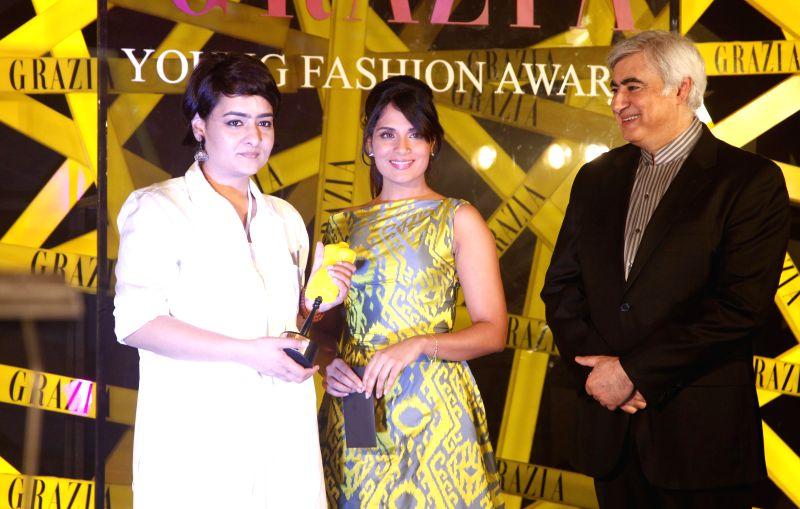 Actress Richa Chadda at Grazia Young Fashion Awards 2014 in Mumbai on 13th April 2014. - Richa Chadda