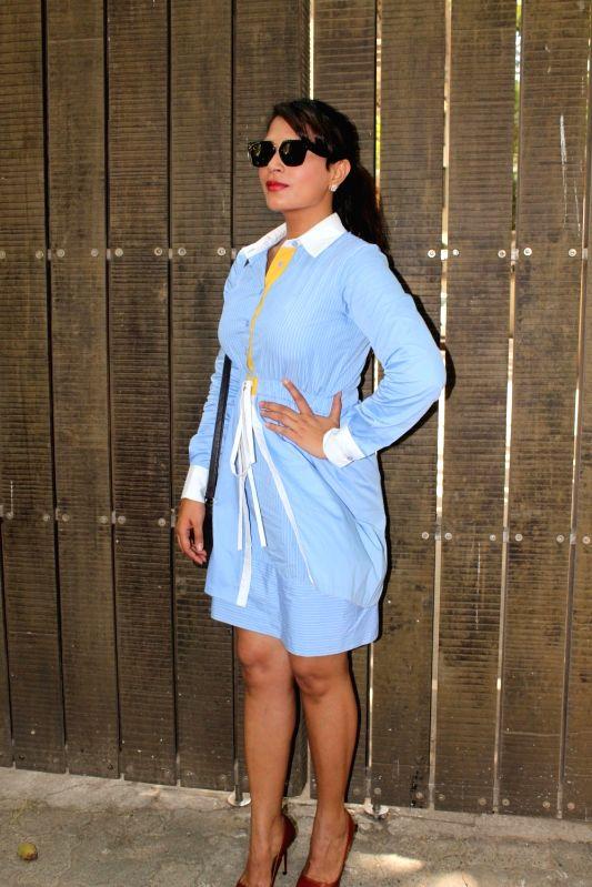 "Actress Richa Chadda during the screening of Punjabi short film ""Khoon Aali Chithi"" in Mumbai on April 26, 2017. - Richa Chadda"