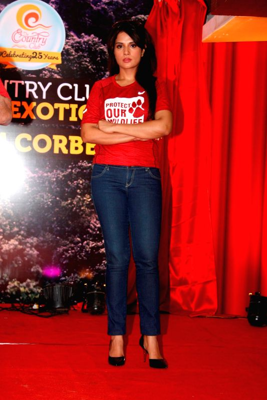 Actress Richa Chadda unveiled Country Club`s New Property on Mumbai on July 10, 2015.